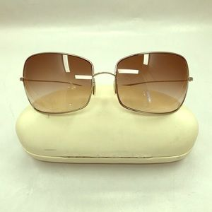 Oliver Peoples wire frame sunglasses